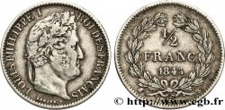 1/2 franc Louis-Philippe 1845 Lille F.182/109