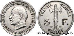 5 francs Pétain 1941 F.338/2