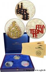 Coffret Belle Epreuve 6,55957 francs - Devise de la République Française 2001 F5.1258/1259/1260 1
