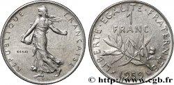Essai de 1 franc Semeuse, nickel 1959 Paris F.226/3
