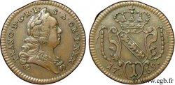 AUSTRIA 1 Pfennig François Ier / armes couronnée de Lorraine HI 1759  EBC