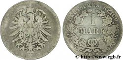 GERMANY 1 Mark Empire aigle impérial 1875 Dresde - E VF