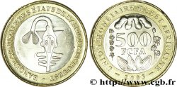 WEST AFRICAN STATES (BCEAO) 500 Francs BCEAO masque 2003
