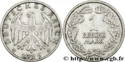 GERMANY 1 Reichsmark aigle héraldique 1926 Berlin VF
