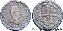 SPAIN 8 Maravedis Ferdinand VII 1813 Jubia F