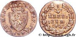 GERMANY - NASSAU 1/4 Kreuzer Grand-Duché de Nassau 1822