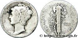 UNITED STATES OF AMERICA 1 Dime Mercury 1920 Philadelphie VF