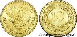 CHILE 10 Centesimos condor 1966 Santiago - S° AU