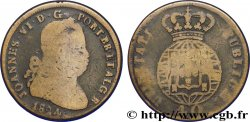 PORTUGAL 1 Pataco (40 Réis) Jean VI (Joao) 1824  F