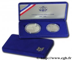 UNITED STATES OF AMERICA Coffret Liberty Coins Half-Dollar et Dollar Proof 1986 San Francisco - S