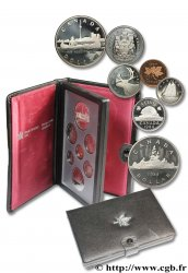 CANADA Série Proof 7 monnaies 1984  FDC