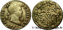ESPAÑA 2 Maravedis Ferdinand VII 1832 Ségovie BC