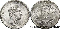 ITALY - LUCCA 2 Lire Charles-Louis de Bourbon 1837 Lucques AU