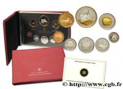 CANADA Série Proof 8 monnaies 2010  FDC