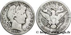 UNITED STATES OF AMERICA 1/2 Dollar type Barber 1900 Philadelphie F