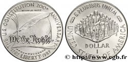 ÉTATS-UNIS DAMÉRIQUE 1 Dollar Bicentennaire de la constitution 1987 Philadelphie - P FDC