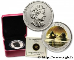 CANADA 25 Cents Proof Canards Colvert 2013