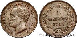 ITALIE 1 Centesimo Victor Emmanuel III 1904 Rome - R SUP
