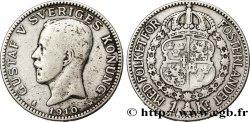 SUÈDE 1 Krona Gustave V 1910  TB+