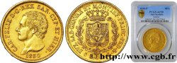ITALIE - ROYAUME DE SARDAIGNE 80 Lire Charles-Félix 1830 Gênes PCGS AU50
