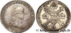 BELGIQUE - PAYS-BAS AUTRICHIENS 1/4 Kronenthaler Joseph II 1789 Kremnitz TTB/TTB+