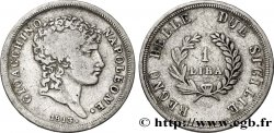 ITALY - KINGDOM OF TWO SICILIES 1 Lira Joachim Murat 1813 Naples VF