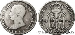 SPAIN - KINGDOM OF SPAIN - JOSEPH NAPOLÉON 4 Reales ou 1 Peseta 1812 Séville