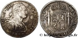 MEXICO 8 Reales Charles IIII d'Espagne 1807 Mexico