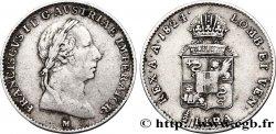 ITALY - LOMBARDY - VENETIA 1/2 Lire François Ier d'Autriche 1824 Milan XF