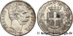 ITALY 5 Lire Humbert Ier 1879 Rome AU