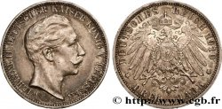 GERMANY - PRUSSIA 3 Mark Guillaume II 1910 Berlin AU