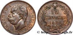 ITALY 10 Centesimi Humbert Ier 1893 Birmingham AU