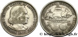 UNITED STATES OF AMERICA 1/2 Dollar Exposition Colombienne de Chicago 1893 Philadelphie XF