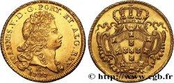 BRÉSIL - JEAN V 6400 Reis, 1er type 1727 Bahia