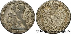 BELGIUM - AUSTRIAN NETHERLANDS Escalin au lion 1750 Anvers VF/XF