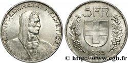 SWITZERLAND 5 Francs berger 1925 Berne MS