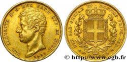 ITALIE - ROYAUME DE SARDAIGNE - CHARLES-ALBERT 100 Lire 1833 Turin