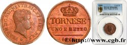 ITALY - KINGDOM OF TWO SICILIES 1 1/2 Tornese Ferdinand II 1840 Naples MS63 PCGS