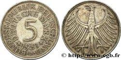 ALLEMAGNE 5 Mark aigle 1951 Munich TTB