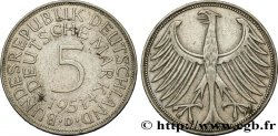 GERMANY 5 Mark aigle 1951 Munich XF