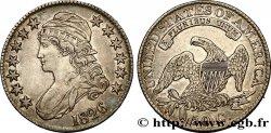 """ÉTATS-UNIS DAMÉRIQUE 50 Cents (1/2 Dollar) type """"Capped Bust"""" 1826 Philadelphie TTB+"""