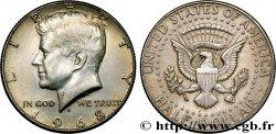 ÉTATS-UNIS DAMÉRIQUE 1/2 Dollar Kennedy 1968 Denver SUP