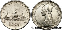 """ITALIE 500 Lire """"caravelles"""" 1958 Rome TTB"""
