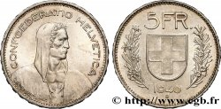 SWITZERLAND 5 Francs Berger des alpes 1940 Berne - B