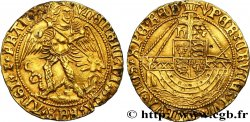 ANGLETERRE - ROYAUME D ANGLETERRE - HENRY VII Ange d'or, type V 1505-1509 Londres SUP