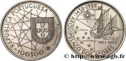 PORTUGAL 100 Escudos découverte des Açores 1989  AU