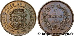 LUXEMBOURG 5 Centimes 1854 Utrecht SUP