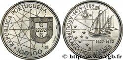 PORTUGAL 100 Escudos découverte des Açores 1989  MS