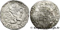 SPANISH LOW COUNTRIES - TOURNAISIS - PHILIPPE IV Escalin au lion 1622 Tournai VF