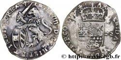 PAYS-BAS ESPAGNOLS - COMTÉ DE FLANDRE - PHILIPPE IV Escalin au lion 1622 Bruges VF